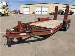 2005 Belshe WB12-2EP T/A Flatbed Trailer