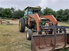 1969 John Deere 4020 2WD Loader Tractor
