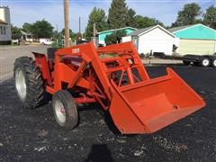 International 2444 Industrial 2WD Tractor
