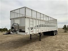 2014 Artex TRW3805-8 T/A Live Bottom Trailer
