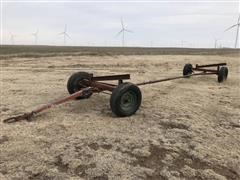 Electric Wheel 650 Header Trailer