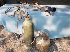 Oxy-Acetylene Torch Set & Arc Welding Rods