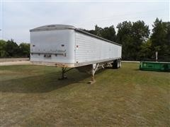 1979 Timpte Aluminum Double Hopper T/A Grain Trailer