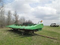 John Deere 894 Corn Header & Trailer