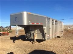 2008 Wilson Ranchhand T/A Livestock Trailer