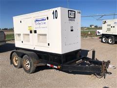 2009 Caterpillar XQ60--4 60 Kw Portable Generator Set