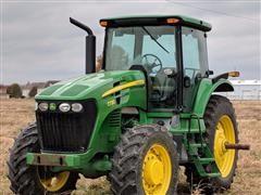 2009 John Deere 7730 MFWD Tractor