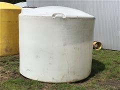 1650-Gallon Poly Storage Tank