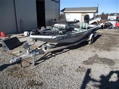 Alumacraft Maverick 16' Boat W/ Trailer