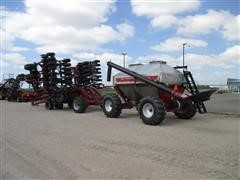 2012 Amity 50 Air Seeder and 3350 Cart