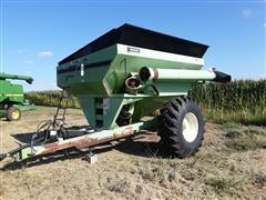 Parker 614 650 Bushel Grain Cart