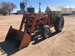 International 2444 2WD Tractor W/Loader