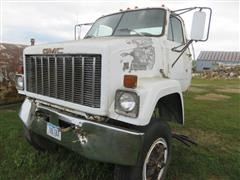 1985 GMC Brigadier Truck PARTS ONLY W/Engine And Transmission