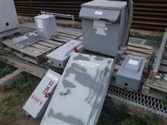 Square D Sorgel Single Phase Dry Single Phase Transformer W/Switches & Panel