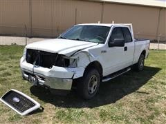 2006 Ford F150XLT 4X4 Extended Cab Pickup