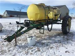 Schaben Industries 1000 Gallon Nurse Trailer W/Pump