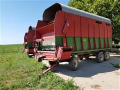 Balzer 6520 Front Unload Forage Wagon