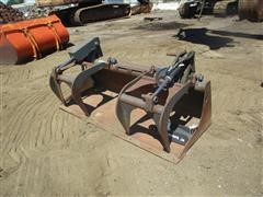 Bobcat Bucket With Grapple
