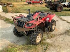 2002 Yamaha Grizzly 660 ATV
