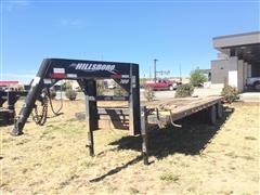 2012 Hillsboro 700 24' T/A Flatbed Trailer