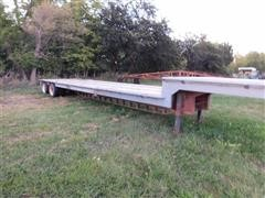 1979 Vulcan T/A Drop Deck Flatbed Trailer