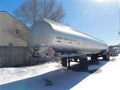1990 Custom Trailer T/A Aluminum Fuel Trailer