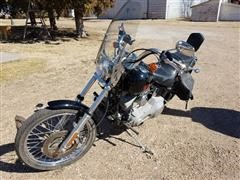 2004 Harley Davidson FXST Soft Tail Motorcycle