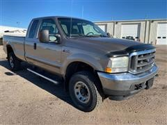 2004 Ford F250 XLT Super Duty 4x4 Extended Cab Pickup
