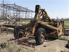 LeTourneau Pull-Type Dirt Scraper