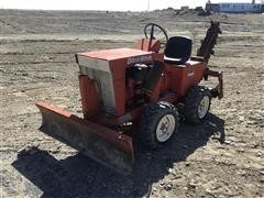 1976 DitchWitch J20-D Trencher W/Blade