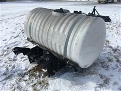 Helicopter 300 Gallon Front Mount Poly Tank
