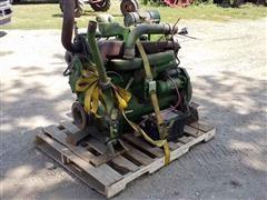 John Deere 7700 Combine Engine