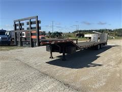 2007 Better Built T/A Fixed Neck Lowboy W/ramps
