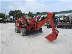2001 Ditch Witch 5110 Trencher Backhoe