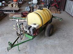 50 Gallon 2 Wheel Sprayer W/Gas Engine Driven Pump