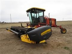 2001 New Holland HW320 18' Self Propelled Windrower