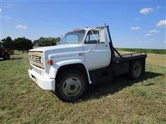 1980 Chevrolet C50 S/A Flatbed Truck