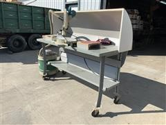 """Makita 12"""" Sliding Compound Miter Saw & Shop-Vac Dust Collector System"""