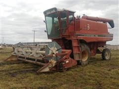 1977 International 1440 Axial Flow Combine w/15' Rigid Header