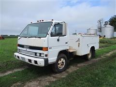 1992 Isuzu NPR Service Truck