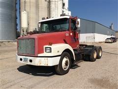 1991 Volvo GMC White WG64T T/A Truck Tractor