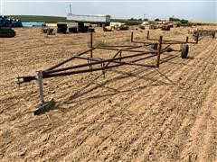Shop Built Gated Pipe Trailer
