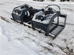 "Brute 80"" Root Grapple Skid Steer Attachment"