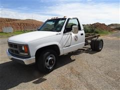 1994 Chevrolet 3500 Dually Cab & Chassis Pickup