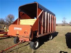 Farmhand F48C Front Unload Silage Wagon