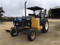 New Holland 7740 2WD Tractor w/Mower