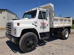 1985 International S1900 S/A Dump Truck