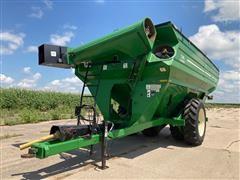 J&M 1326-22D Grainstorm Grain Cart W/Scale