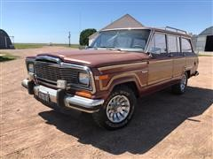 1984 Jeep Grand Wagoneer 4x4 SUV