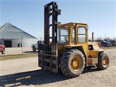 Sellick SD-60 6,000 Lb. Capacity All Terrain Forklift